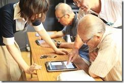 シルバー向けiPad教室_出所:japan.internet.com