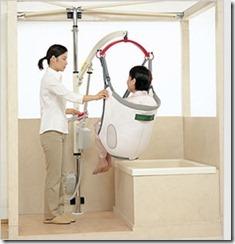 浴室用介護リフト