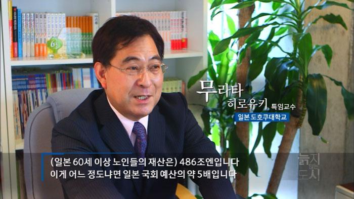 韓国KBS テレビの特集番組に出演しました