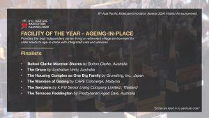 Eldercare Awards 2020