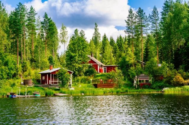 フィンランド夏風景